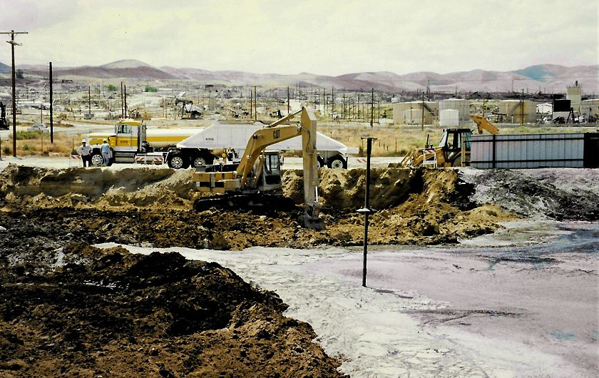 Oil Surface Impoundment